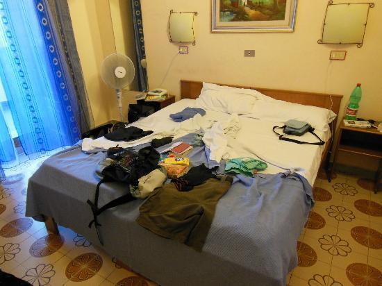 Hotel Pensione Romeo: chambre calme avec sdb