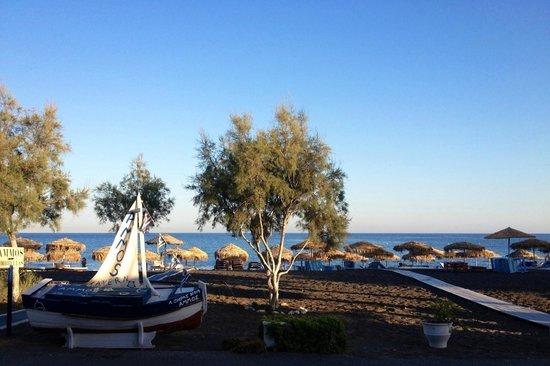 Perivolos, اليونان: Ammos Restaurant by Stathis