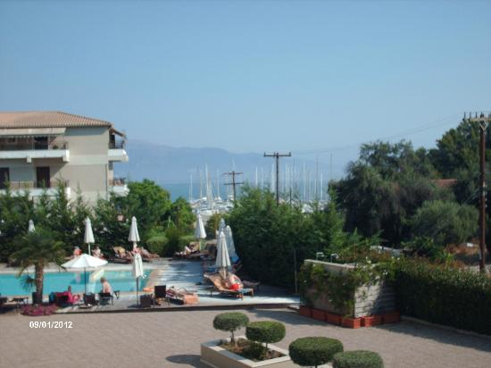 Corfu Mare Boutique Hotel: view of pool area