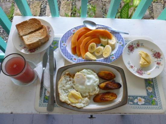Holiday Home : A great breakfast