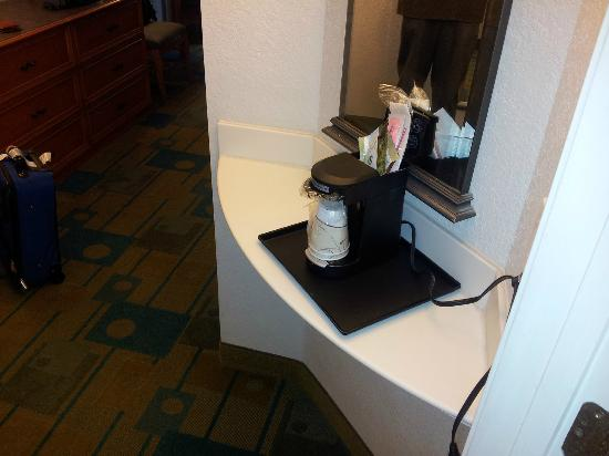 La Quinta Inn & Suites Ft. Lauderdale Plantation: Coffee stand