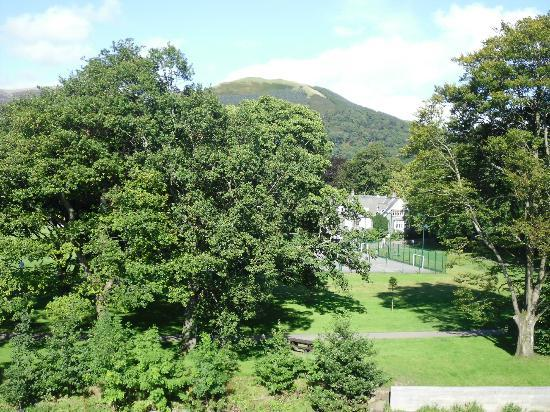 YHA Keswick: view from the accommodation