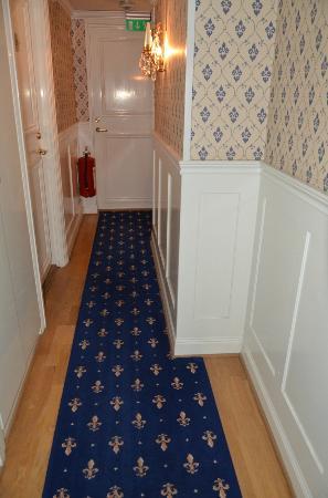 Scandic Gamla Stan: Hotel hallway