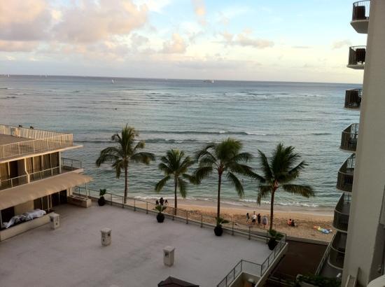 ocean view from 7th floor ocean tower