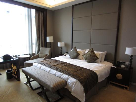 Crowne Plaza Ordos : hotel room