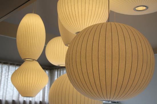 New Park Manor: Reception lights