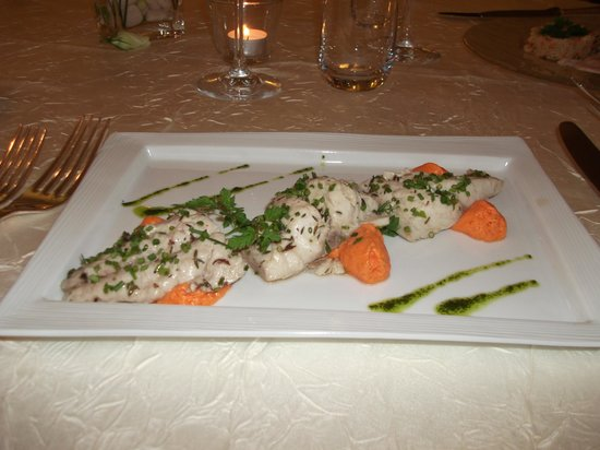 The fish made with love and attention photo de l 39 aigle d - Restaurant l aigle d or azay le rideau ...