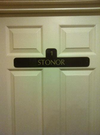 The Byron Hotel: porta della camera