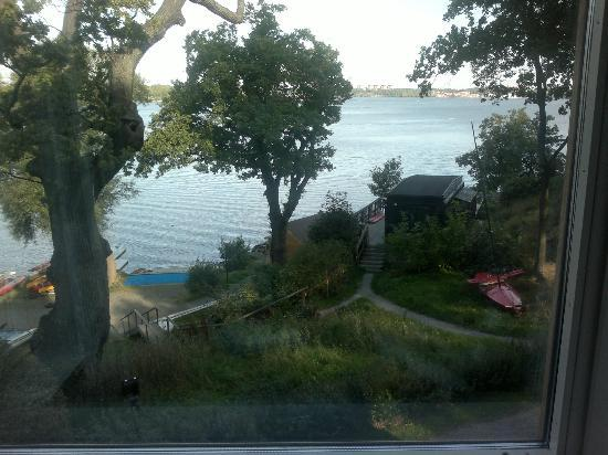 Hotel J: View from bay window.