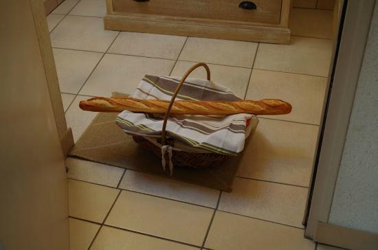 Ferme Saint Christophe: Nuestro desayuno de cada mañana