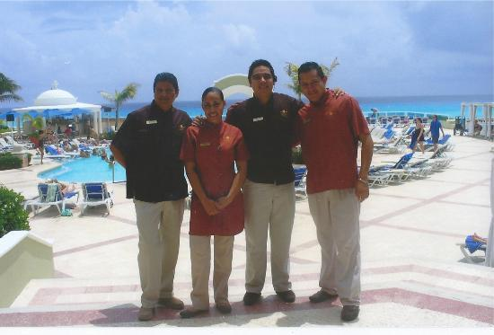 Gran Caribe Resort: they help you feel comfortable