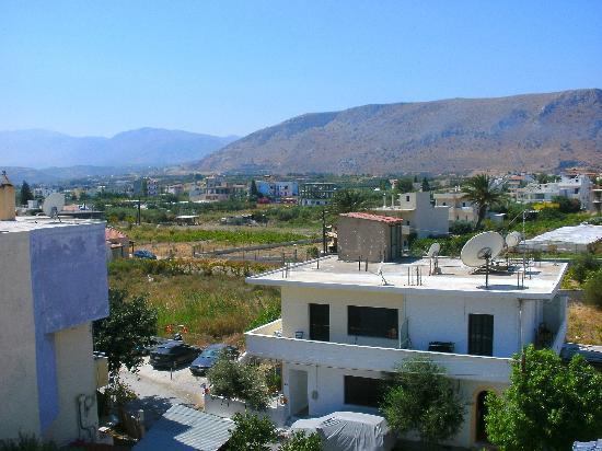 Amoudara Manos Studios Hotel: View from 3rd floor balcony