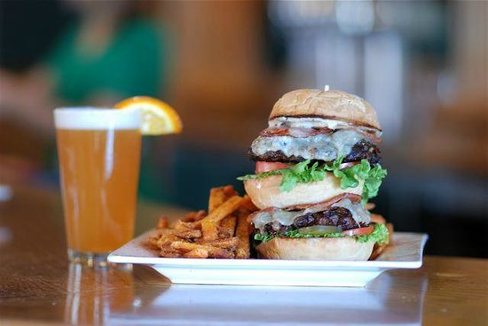 "The Flying Steamshovel Gastropub & Inn: Voted ""Best Burger Joint"" in 2012 Best of Business awards"