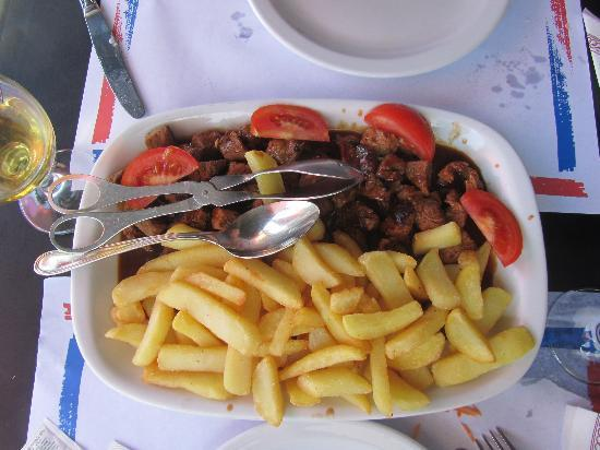 Rocha Mar Restaurante: picado para 2 personas