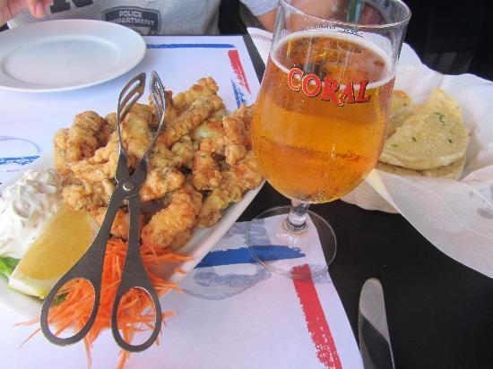 Rocha Mar Restaurante: espada au camarao