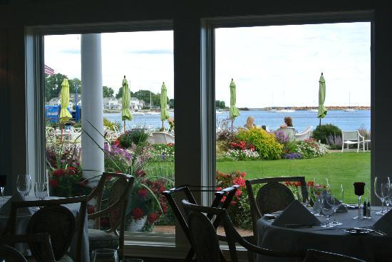 Hotel Iroquois: view from the dining room