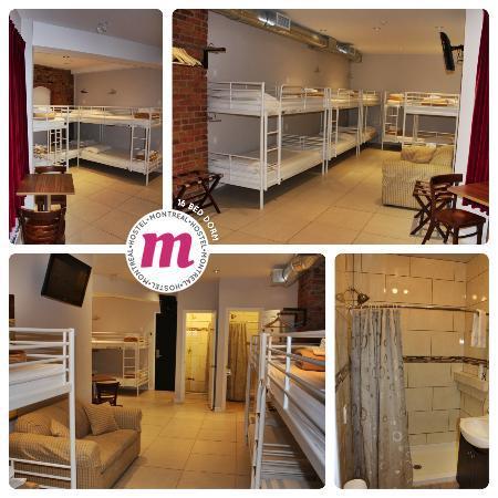 M Montreal: 16 Bed Dorm