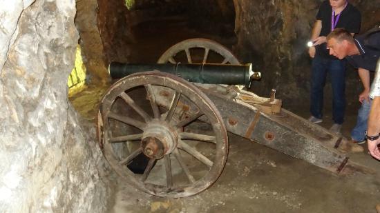 Petrusse Casemates cannon
