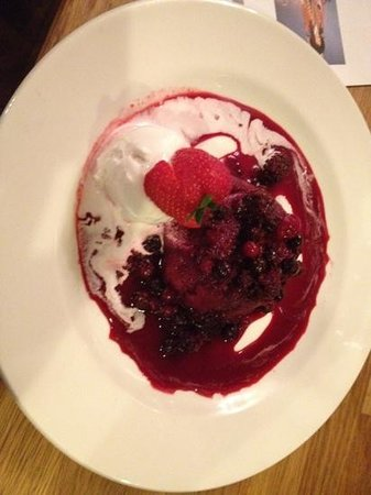 Anderson's : the BEST summer pudding in Farnham...