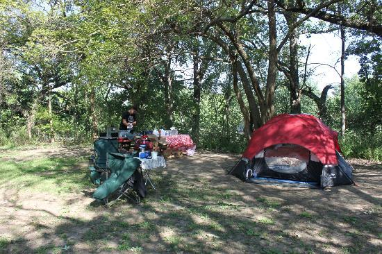 LaSalle / Peru KOA: Base Camp at the top of the hill