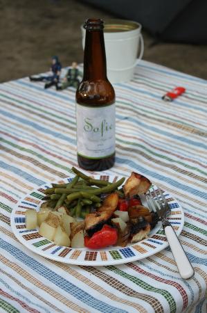 LaSalle / Peru KOA: Dinner is served