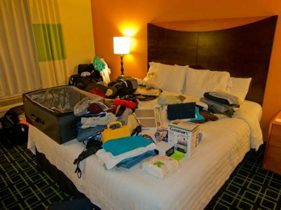 Fairfield Inn Dallas DFW Airport North / Irving: Cama e quarto