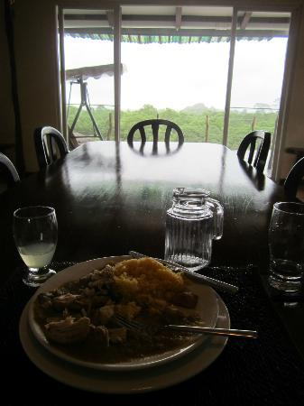 Semilla Verde Lodge & Spa: My welcome lunch