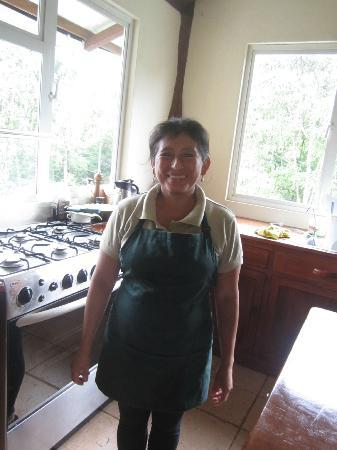 Semilla Verde Boutique Hotel: Gloria (I believe is her name) is the chef to all the wonderful meals