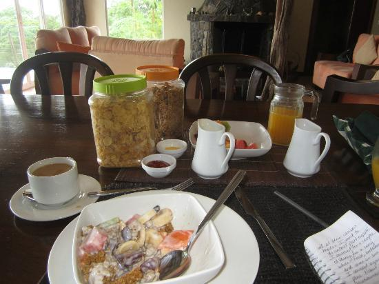 Semilla Verde Boutique Hotel: Breakfast options