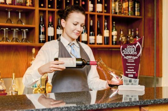 Steeds Club Grill & Bar: Extensive Wine List