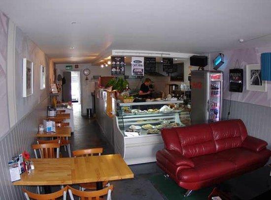 Cafe Riva: interior