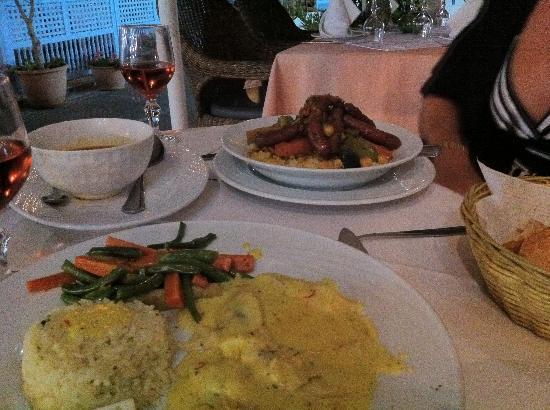 La Lampara : Couscous et filet de Saint Pierre