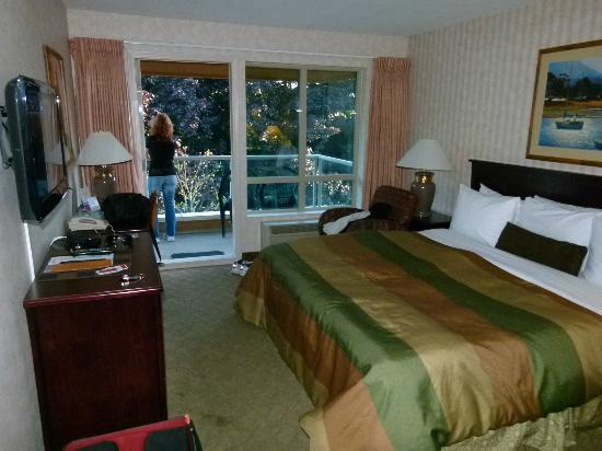 Ramada Limited Vancouver Airport : inside the room