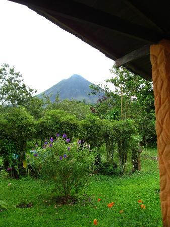 Cabinas Los Guayabos: View from the cabin on a clear day