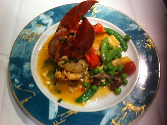 l'etoile : lobster! yum!!!!!!
