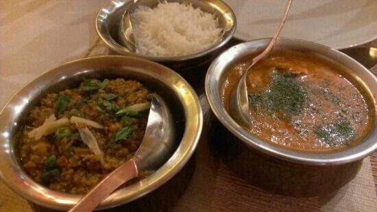 Passage To India : Chicken Tikka Massala y Chicken Kheema