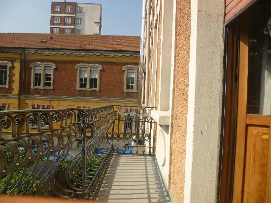 Hotel Bagliori: Balcón de la habitación