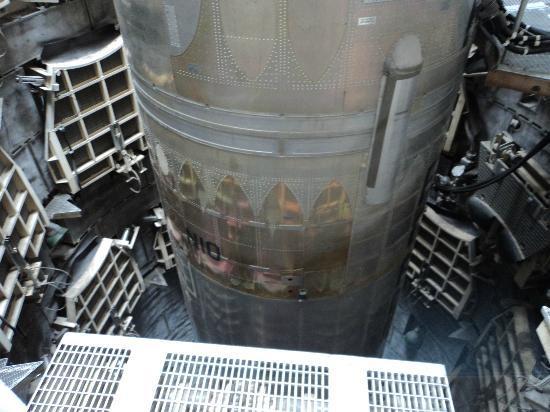 The missile at the Titan Missile Museum, Sahuarita, AZ.