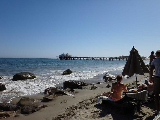 Malibu Beach Inn: ビーチ