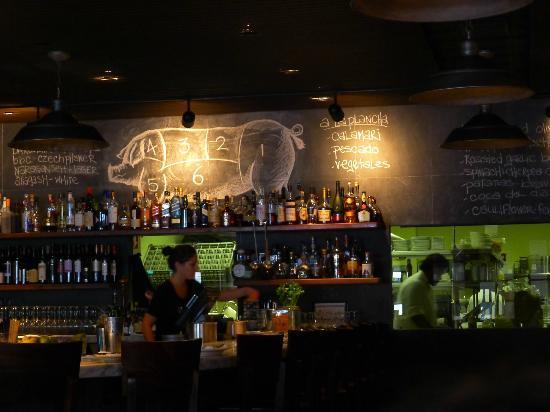 Barcelona: Closer look at the bar