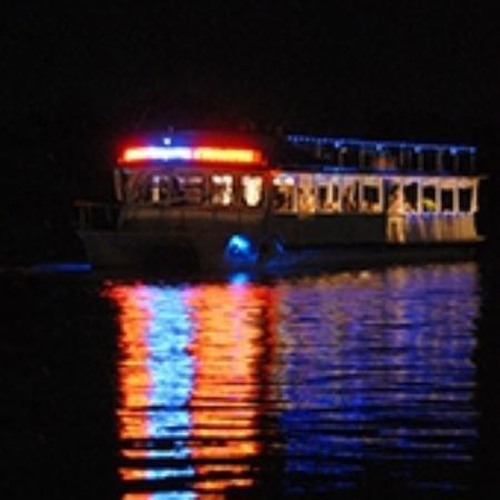 Catalina Cruises Noosa: M.V.CATALINA at night