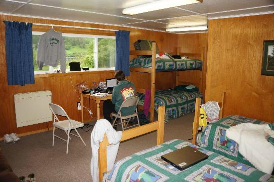 Saltery Lake Lodge: Our living quarters