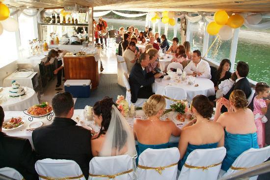 Wedding Reception Aboard MVCATALINA Picture Of Catalina - Catalina cruises