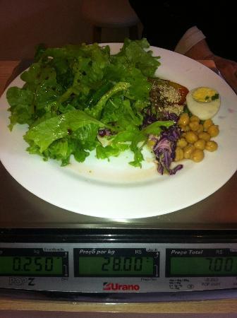 Sabor Mais Natural: Custo benefício muito bom 6,50 este prato