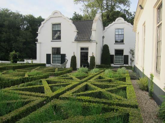 Kasteel Engelenburg : Kitchen garden