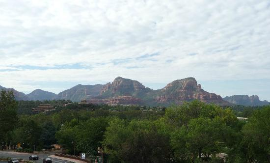 Sedona Motel: View from the patio