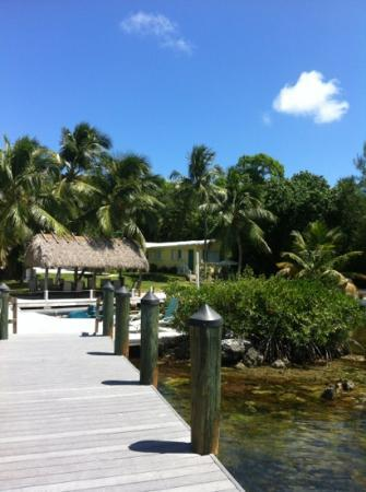 Bay Harbor Lodge: hanging on the dock