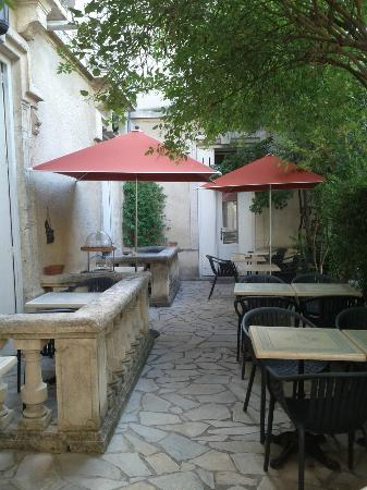 Hotel du Parc : Nice breakfast area