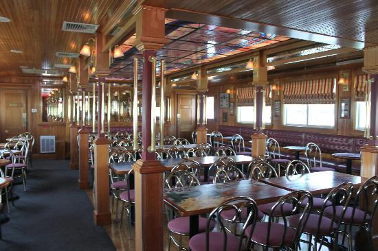 Pride of the Susquehanna: inside of the boat