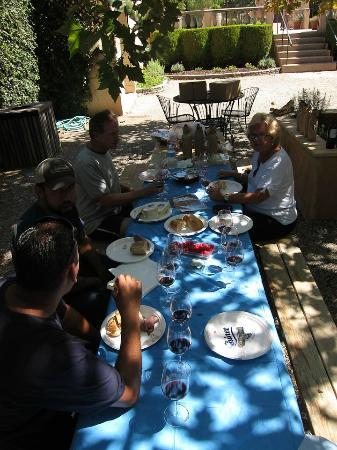 Santa Ynez, Kalifornien: Picnic in the Courtyard